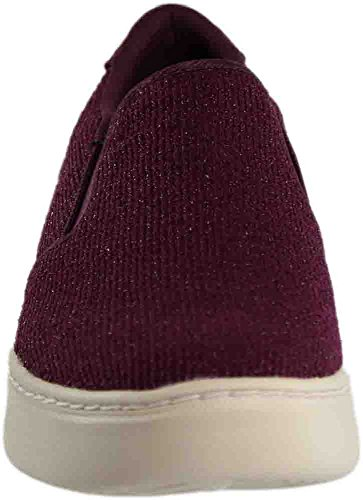 sale fashionable free shipping largest supplier Skechers Womens Sparkle Knit Twin Gore Slip Burgundy sale fake discounts sale online shop offer sale online 5myFJuSz