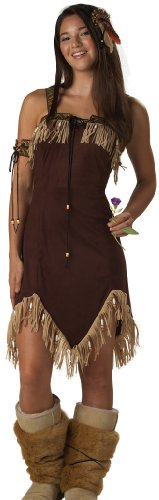California Costumes Girls  Tween-Indian Princess, Brown, 3-5 Costume