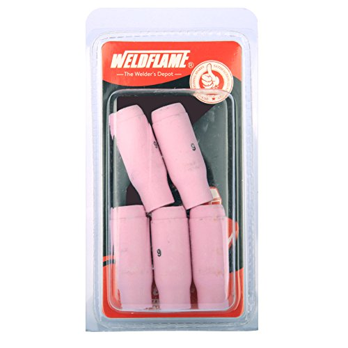 weldflame-5-pk-alumina-ceramic-cup-nozzles-10n48-6-3-8-for-tig-welding-torch-17-18-26