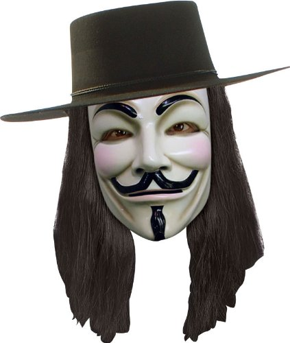 V For Vendetta Costume Wig (V for Vendetta Wig)