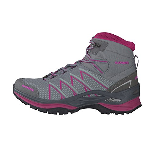 Evo Gris Lowa WS Chaussures Femme Trekking Mid Ferrox GTX qx7wgH5
