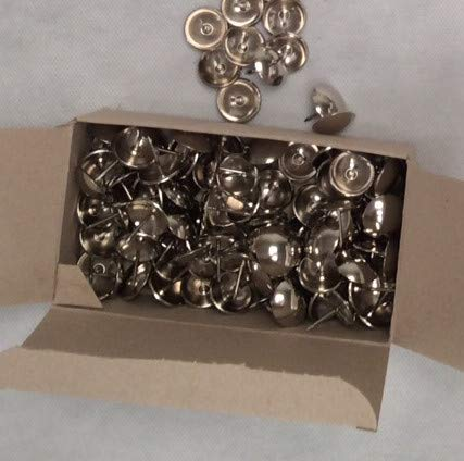 Caja 100 unidades tachuelas 20mm (Niquelada): Amazon.es ...