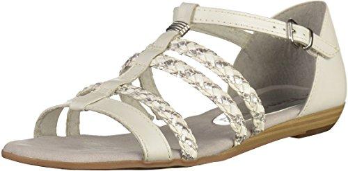 Sandals 28108 Womens Silver 28 White 1 Tamaris UfHqAIW