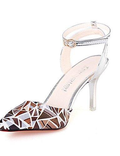 GGX/Damen Schuhe PU Sommer Heels Heels Casual Stiletto Heel andere Pink/Weiß/Silber/Grau/Gold pink-us6 / eu36 / uk4 / cn36
