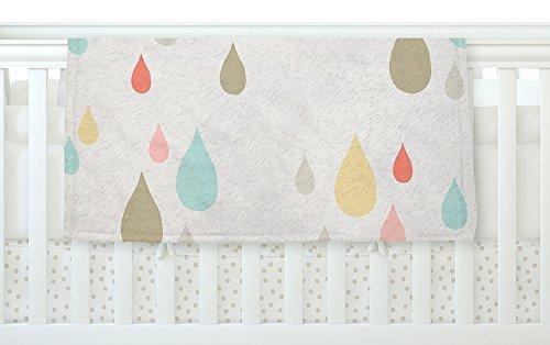 KESS InHouse Very Sarie Rainy Days Multicolor Rain Fleece Baby Blanket 40 x 30 [並行輸入品]   B077YZQLYG