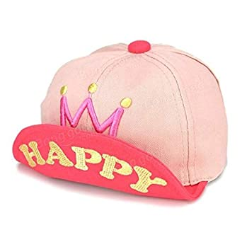 7da5bb64d9c SPA Children Baby Kids Letter Crown Printed Baseball Cap Infant Boys Girls  Cotton Bl  Amazon.in  Clothing   Accessories