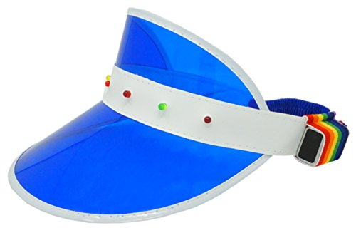 Funny Guy Mugs Retro Light Up Visor Hat, - Retro Guys Fashion
