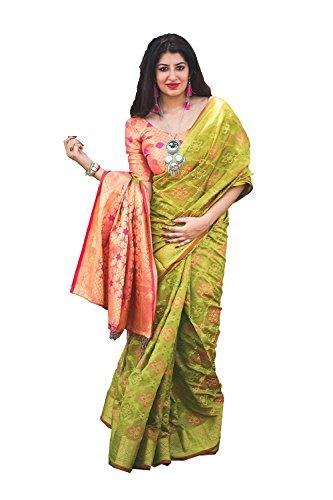Sari Progettista Di Verde Per Uccello Facioun Le Partito Usura Donne Nozze Da Tradizionale Sari Indiani nYBqxwnzO