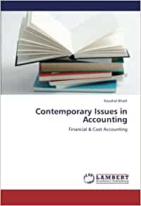 Contemporary Issues in Accounting — StudentVIP