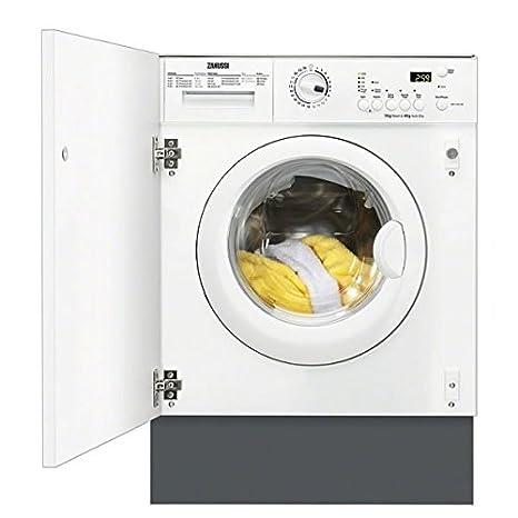 Zanussi zwt71201wa 1200RPM integrado lavadora \/secadora 7 kg ...