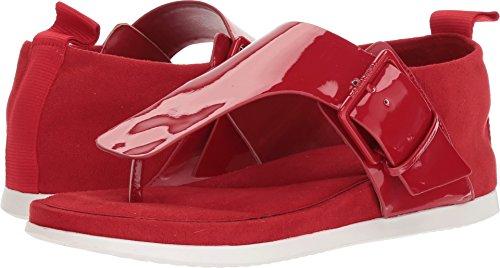 Calvin Klein Women's Dionay Sandal, Crimson Red, 7 Medium US by Calvin Klein