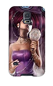 Galaxy S5 Case Cover With Shock Absorbent Protective UkqNXQU12963Cntpz Case