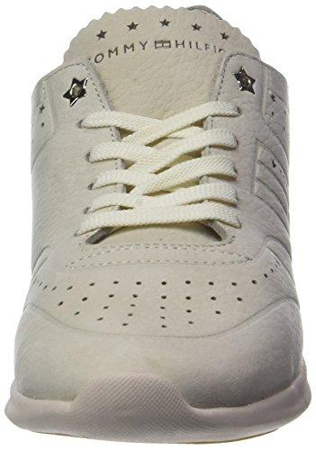 Femme Nubuck Beige Tapioca 639 Basses Weight Sneaker Hilfiger Light Tommy Sneakers pTOx05qn