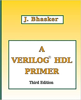 Verilog Book By Bhaskar