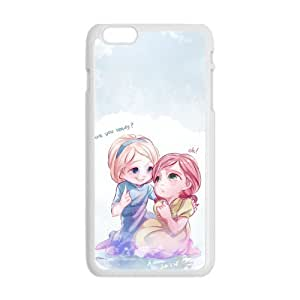 diy zhengHappy Frozen Princess Elsa and Anna Cell Phone Case for Ipod Touch 4 4th