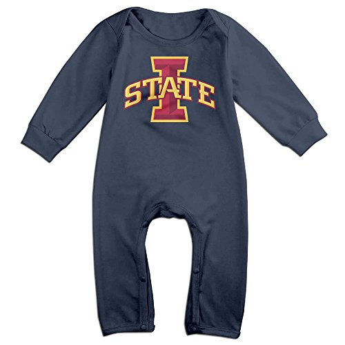 Cyclone Mascot Costume (Dadada Boy's & Girl's Iowa State University Long Sleeve Outfits 24 Months)
