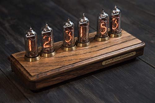 """Used, """"Vostok-2"""" Oak Nixie Clock for sale  Delivered anywhere in USA"""