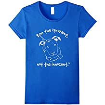 Pit Bull Puppy Shirts - Ban The Ignorant, Not The Innocent W