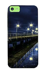 Pirntalonzi Brand New Defender Case For Iphone 5c (night Pierphotography ) / Christmas's Gift