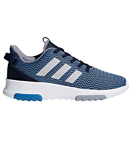 adidas Kids CF Racer TR Running Shoe, Collegiate Navy/Collegiate Navy/Grey, 5 M US Big ()