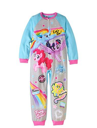 (AME Sleepwear My Little Pony The Movie One piece Sleeper Union Suit Let's Go)