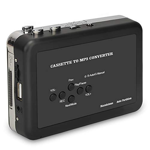ayer , Digital Audio Music Recorder Tape to MP3 Converter Save into USB Flash Drive/No PC Required ()