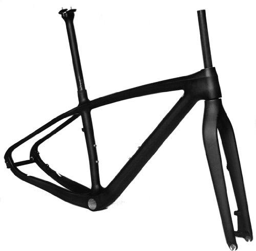 Full Carbon Matt Matte 29er Mountain Bike MTB 29'' Wheel BB30 Frame Seatpost Fork 17.5'' by x-goods