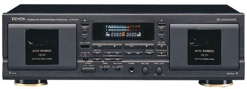 (DENON DRW-580 Dual Cassette Deck with Dolby)