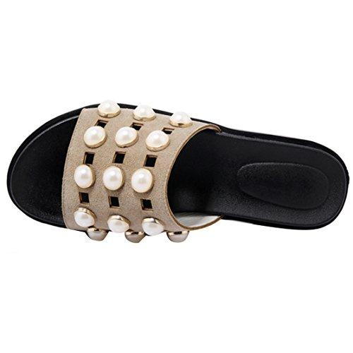 AIYOUMEI Women's Open Back Slippers KsiNRLV