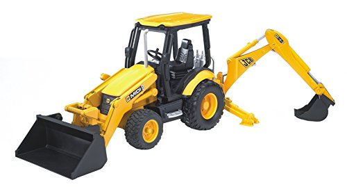 - Bruder JCB Midi CX Loader Backhoe