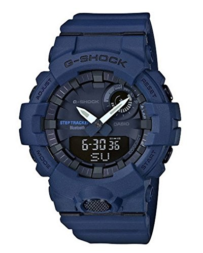 (Casio G-Shock Men's Watch Blue 48.6mm Resin GBA800-2A)