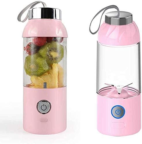 Exprimidor Exprimidor eléctrico inalámbrico, Personal Mini taza de jugo, carga USB portátil, frutas, verduras, Batido de leche, Smoothie Blender