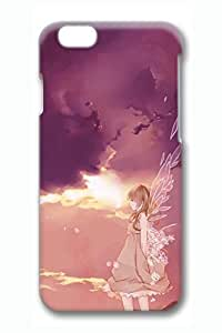 Anime Angel Girl 2 Cute Hard Cover For iPhone 6 Plus Case ( 5.5 inch ) PC 3D Cases in GUO Shop