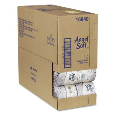 GPC 168-80 Angel Soft ps Premium Bathroom Tissue, Case of 80 Rolls