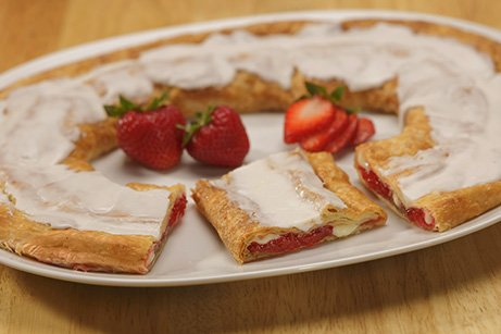 strawberry cheese danish - 1