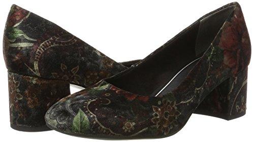 velvet Multi Tacón Multicolor 22460 Tozzi Para De Zapatos Mujer Marco Pxvwfq8zU