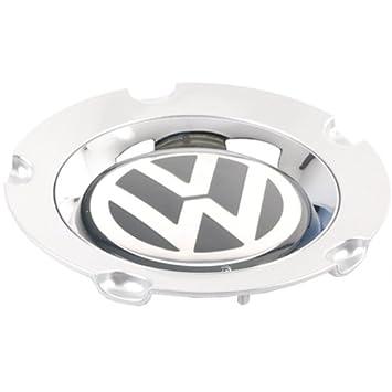 Volkswagen – Tapacubo para Llantas de aleación, Plateado Brillante. Modelo 1j9071214: Amazon.es: Coche y moto