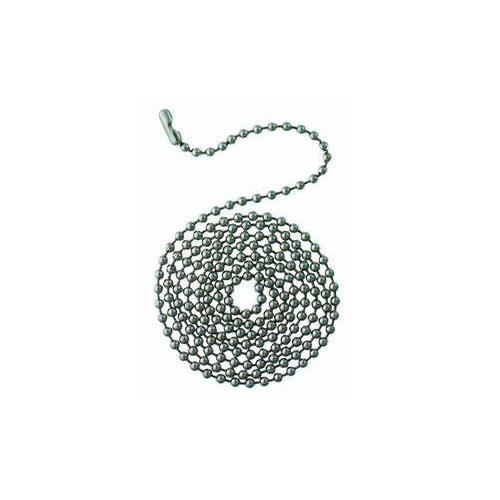 Bead Pull Chain - WESTINGHOUSE LIGHTING 3' Bead Ss Chain