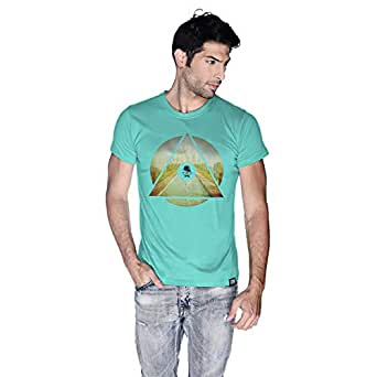 Creo India T-Shirt For Men - M, Green