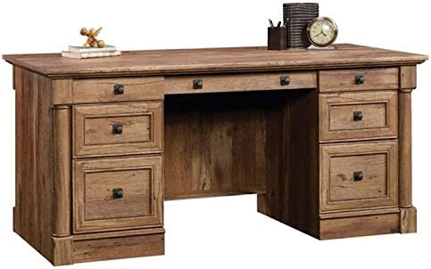 Pemberly Row Vintage Home Office Executive Desk - the best modern office desk for the money