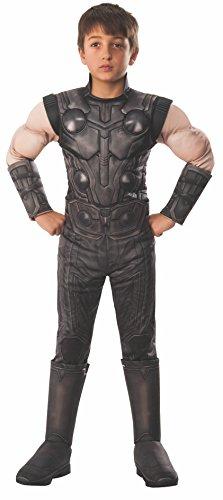 Rubie's Marvel Avengers: Infinity War Child's Deluxe Thor Costume, Medium