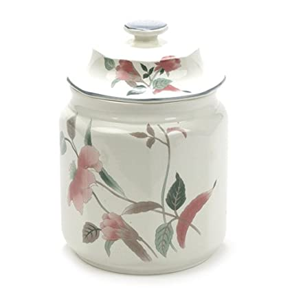 Amazon Silk Flowers By Mikasa China Canister Kitchen Dining