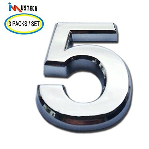 3 inch door numbers - 3
