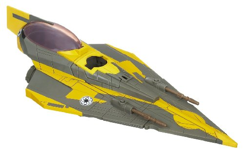 Star Wars Clone Wars Star fighter Vehicle - Anakin's Jedi Starfighter