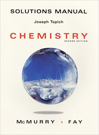 Chemistry solutions manual john mcmurry robert c fay chemistry solutions manual teachers guide edition fandeluxe Image collections