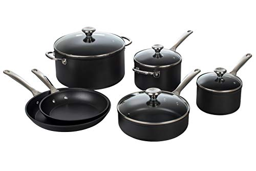(Le Creuset TNS0010 10 Piece Toughened Nonstick Cookware)