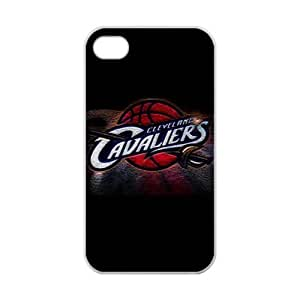 Cleveland Cavaliers Logo Back design for iPhone 4/4s TPU Case (Laser Technology)-by Allthingsbasketball