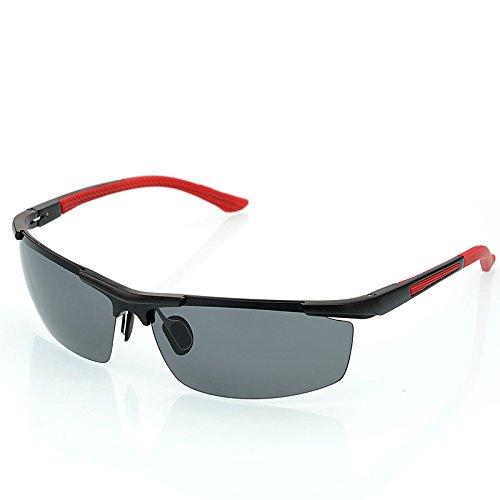 2c8bdb378d TIANLIANG04 hombres gafas polarizadas en guía de aluminio de aleación de  magnesio mens Moda Gafas de