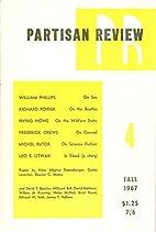 Partisan Review - Fall, 1967 Volume XXXIV,…