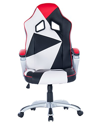 killbee large gaming chair swivel executive office chair adjustable